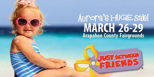 FREE ADMISSION! JBF Aurora Spring 2020
