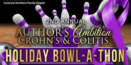 2nd Annual Author's Ambition Crohn's & Colitis Foundation Bowl-A-Thon tickets