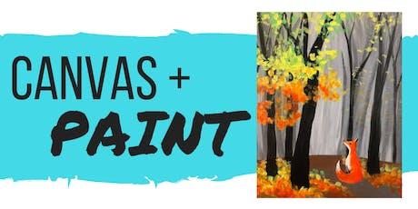 Canvas+Paint - November tickets