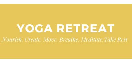 Rebecca Brown Yoga Weekend Yoga Retreat November tickets
