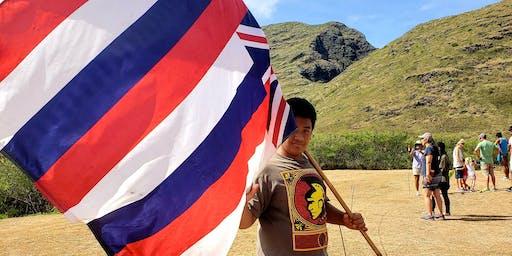 OVERNIGHT Mākua cultural access, Saturday, 8/17, thru sunset Sunday, 8/18