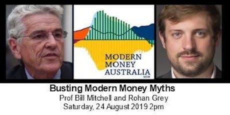 Busting Modern Money Myths tickets