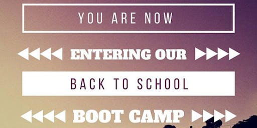 Back-to-School Boot Camp & Giveaway for NYC parents & their 2nd-5th graders