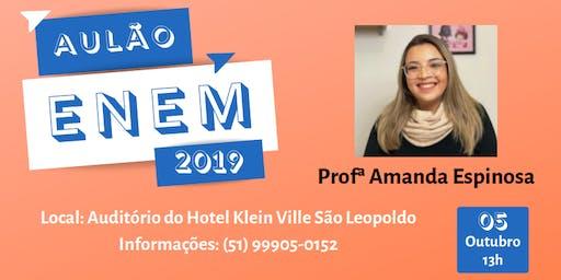 Aulão de Português e Redação - ENEM 2019