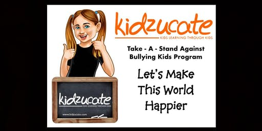 Kidzucate Take-A-Stand Against Bullying Program at Whitford City