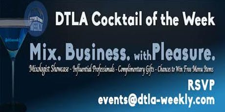 DTLA Cocktail of the Week at 18 Social @Hotel Indigo tickets