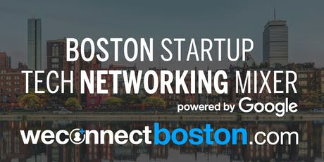 Boston Fall Tech Networking Mixer powered by Google tickets