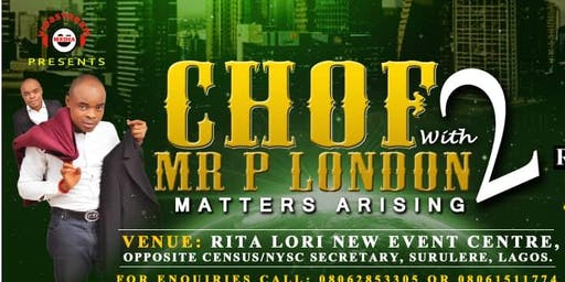 CHOF 2 with P London