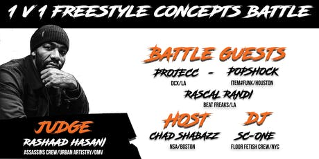 STACKIN' STYLEZ VOL. III | FREESTYLE DANCE FESTIVAL tickets