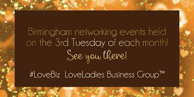 Birmingham #LoveBiz Coffee and Canapés Networking Event at The Ivy