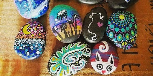 Family Crafting (Rock Painting) with Creative Carrie