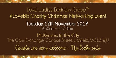 Lichfield #LoveBiz Christmas Coffee Catch Up Networking Event