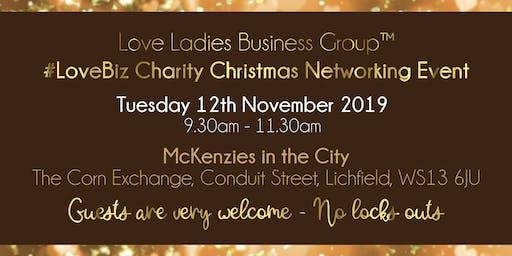 Lichfield #LoveBiz Christmas Coffee Catch Up Networking Event
