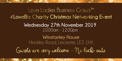 Leicester #LoveBiz Christmas Coffee Catch Up Networking Event