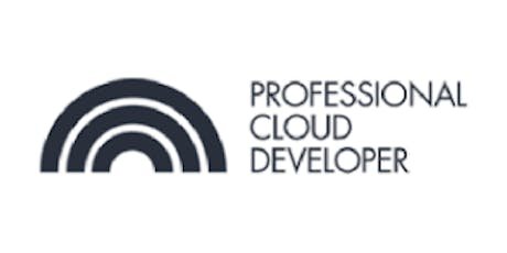 CCC-Professional Cloud Developer (PCD) 3 Days Training in Brussels tickets