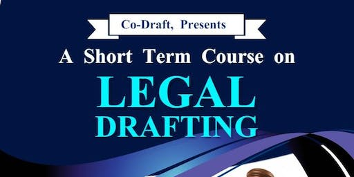 Legal  Drafting Short Term Course