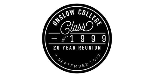 Onslow College Class of 1999 20 Year Reunion