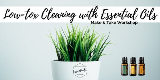 Low-Tox Cleaning Make & Take Class