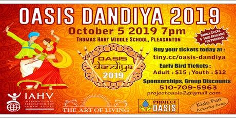 Oasis Dandiya 2019 tickets