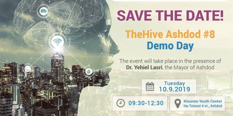 TheHive Ashdod #8 Demo Day tickets