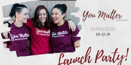You Matter Stories Launch Party! tickets