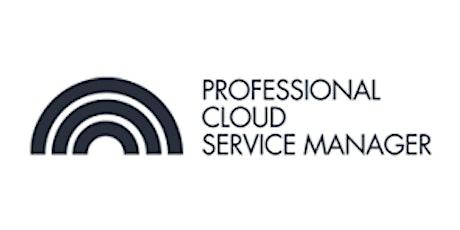 CCC-Professional Cloud Service Manager(PCSM) 3 Days Virtual Live Training in Antwerp biglietti