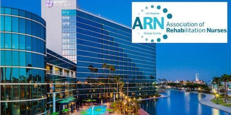 Association of Rehabilitation Nurses LA-OC Chapter Annual Educational Conference tickets