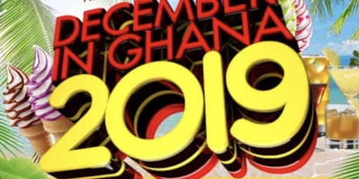 DECEMBER IN GHANA 2019 - EVENTS WRISTBAND