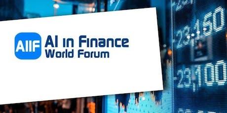 AI in Finance World Forum tickets
