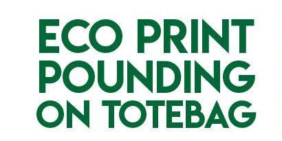 ECO PRINTING PONDING TOTE BAG (PRICE 125 K!  RSVP:  +6289941340)