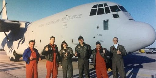 Group Captain James Blagg and Group Captain Steve Young - C130J-30 Aircraft