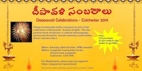 Colchester Deepavali 2019 tickets