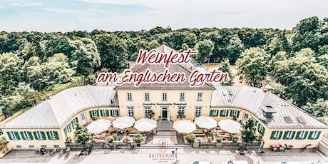 Das große Weinfest am Englischen Garten 2019 Tickets