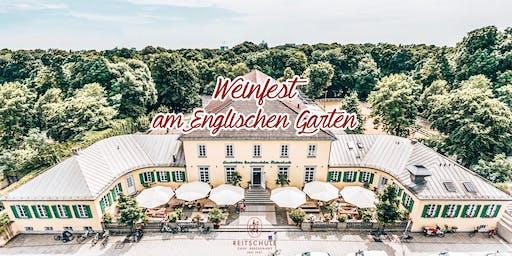 Das große Weinfest am Englischen Garten 2019
