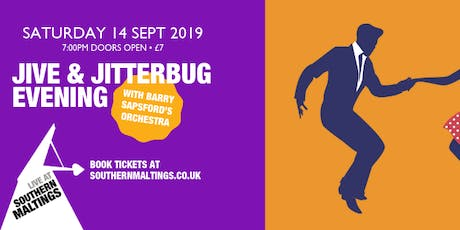 Jive and Jitterbug Evening with Barry Sapsford's Orchestra tickets