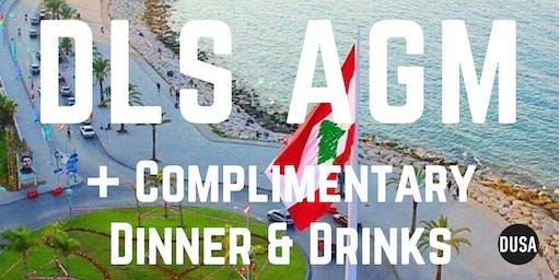 Post AGM Dinner & Drinks