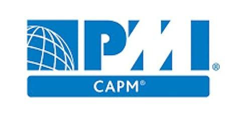PMI-CAPM 3 Days Training in Sacramento, CA tickets