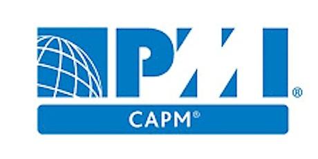 PMI-CAPM 3 Days Training in San Francisco, CA tickets