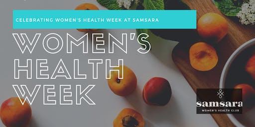 Samsara WHC - Celebrating Women's Health Week