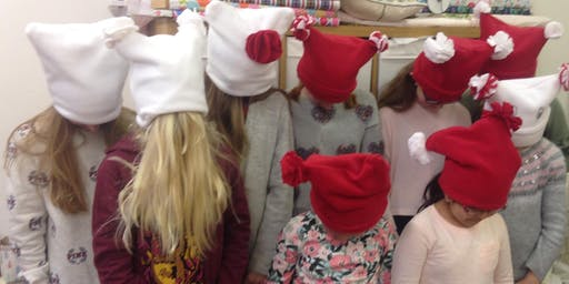 Sewing classes for children £15 - Saturday 21st December 2019  9.30am – 12.30 pm