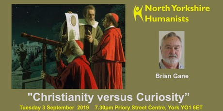 """Christianity versus Curiosity""  tickets"