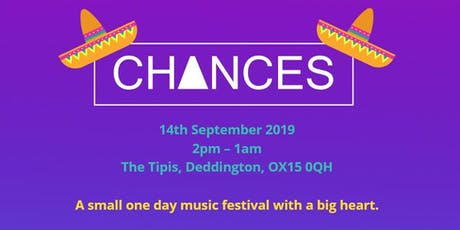 CHANCES Festival tickets