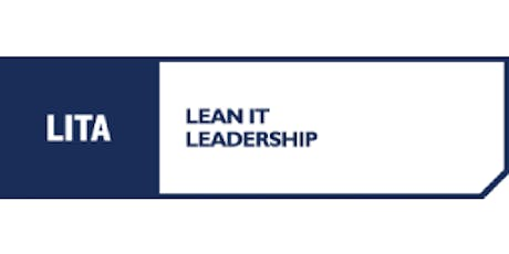 LITA Lean IT Leadership 3 Days Training in Portland, OR tickets