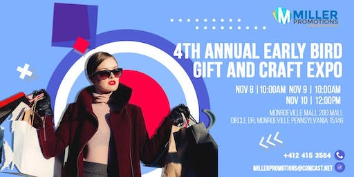 4th Annual Early Bird Gift and Craft Expo