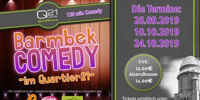 Barmbek Comedy im Quartier 21