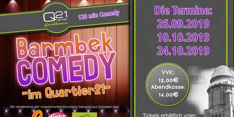 Barmbek Comedy im Quartier 21 Tickets
