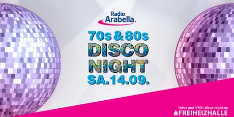 Radio Arabella Disco Night im September! Tickets