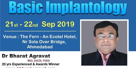 2 Days Basic Implantology Course Workshop in Ahmedabad Gujarat India tickets