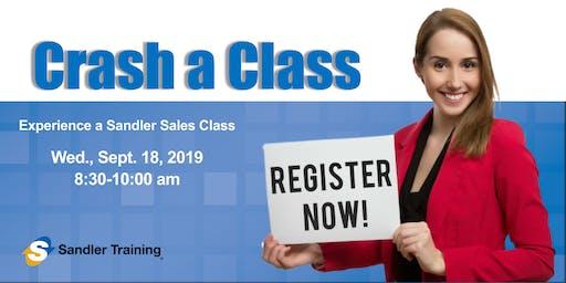 Crash A Class - Sales Training Delray Beach, FL