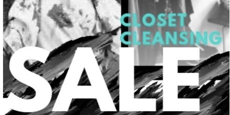 We Closet Cleansing! Gently used Designer, Vintage & Mall Brand Pop-up Shop tickets